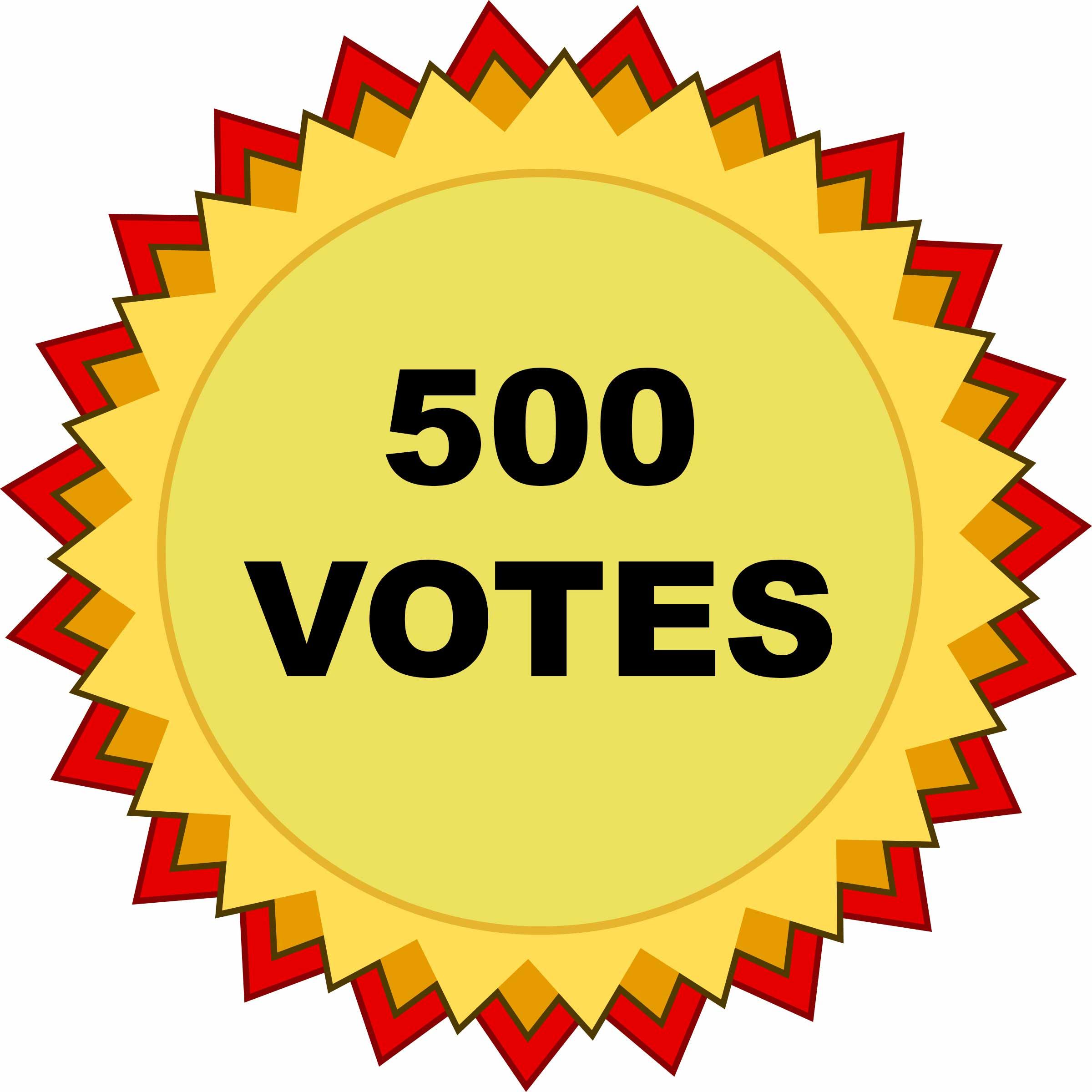 500-VOTES